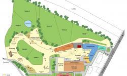 Lageplan von der Anlage